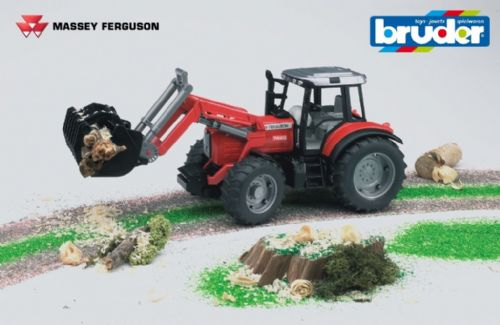 Massey Ferguson 7480 with loader